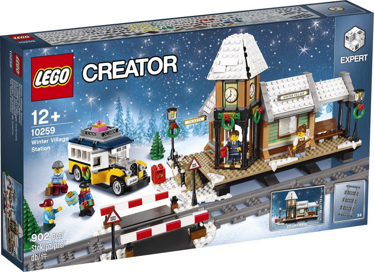 LEGO 10259 Winterdorp Station