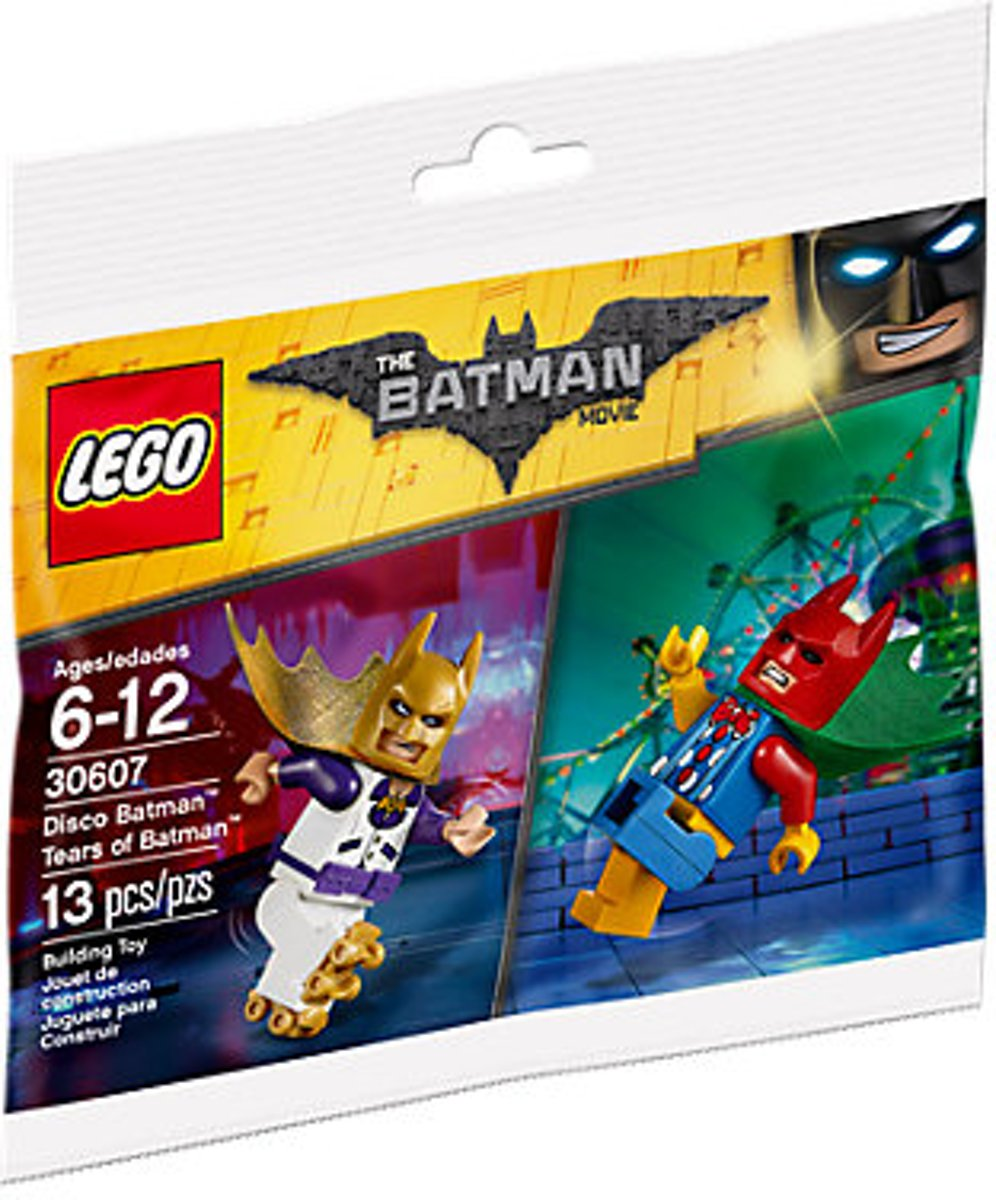 LEGO 30607 Disco Batman & Tranen Van Batman (Polybag)