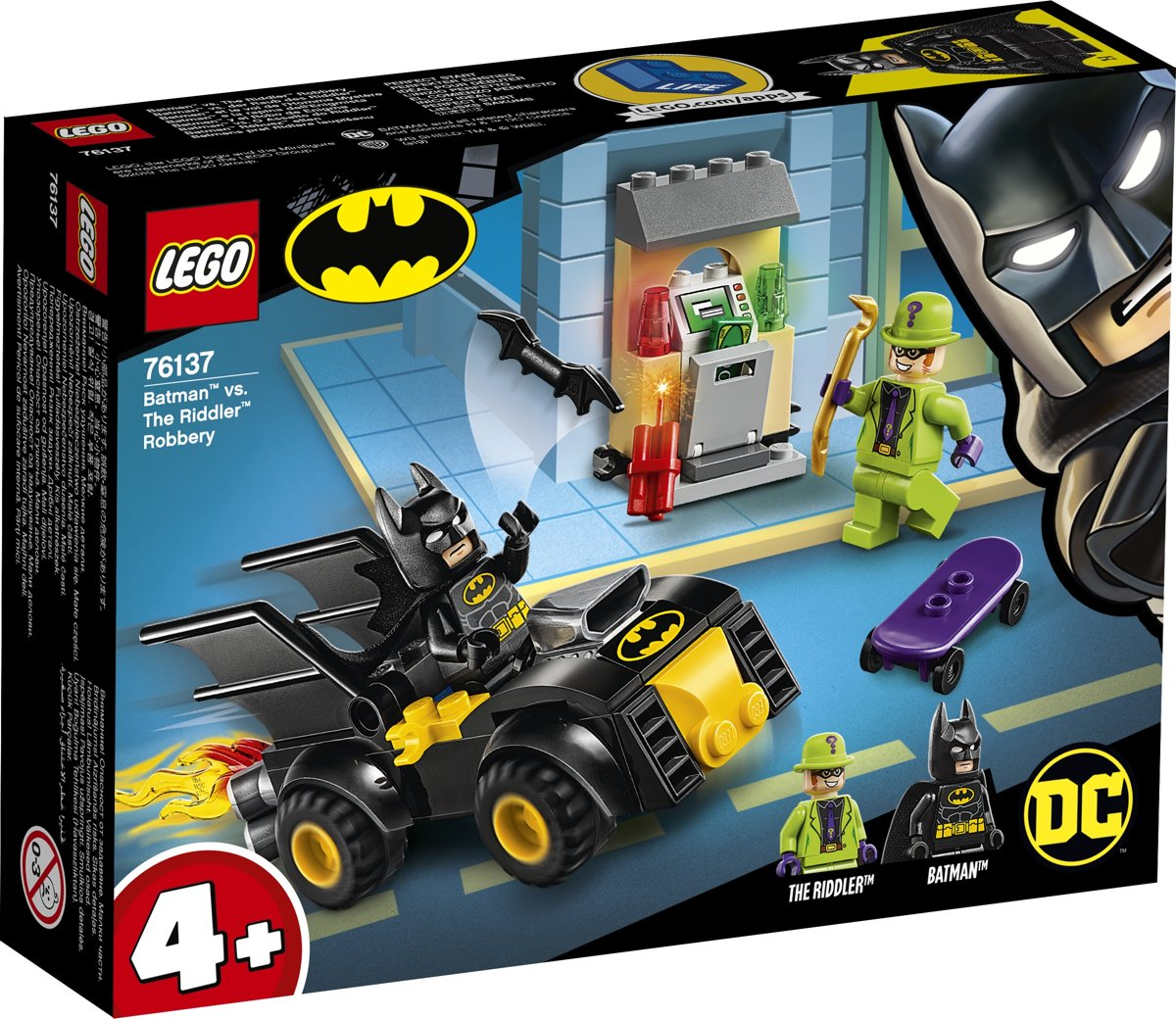 LEGO 4+ Batman vs. de Roof van The Riddler - 76137