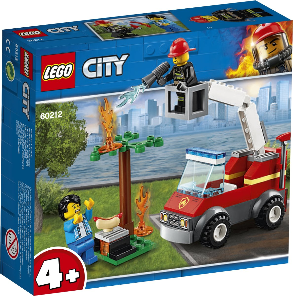 LEGO 4+ City Barbecuebrand Blussen - 60212