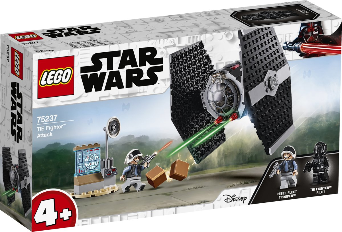LEGO 4+ Star Wars TIE Fighter Attack - 75237