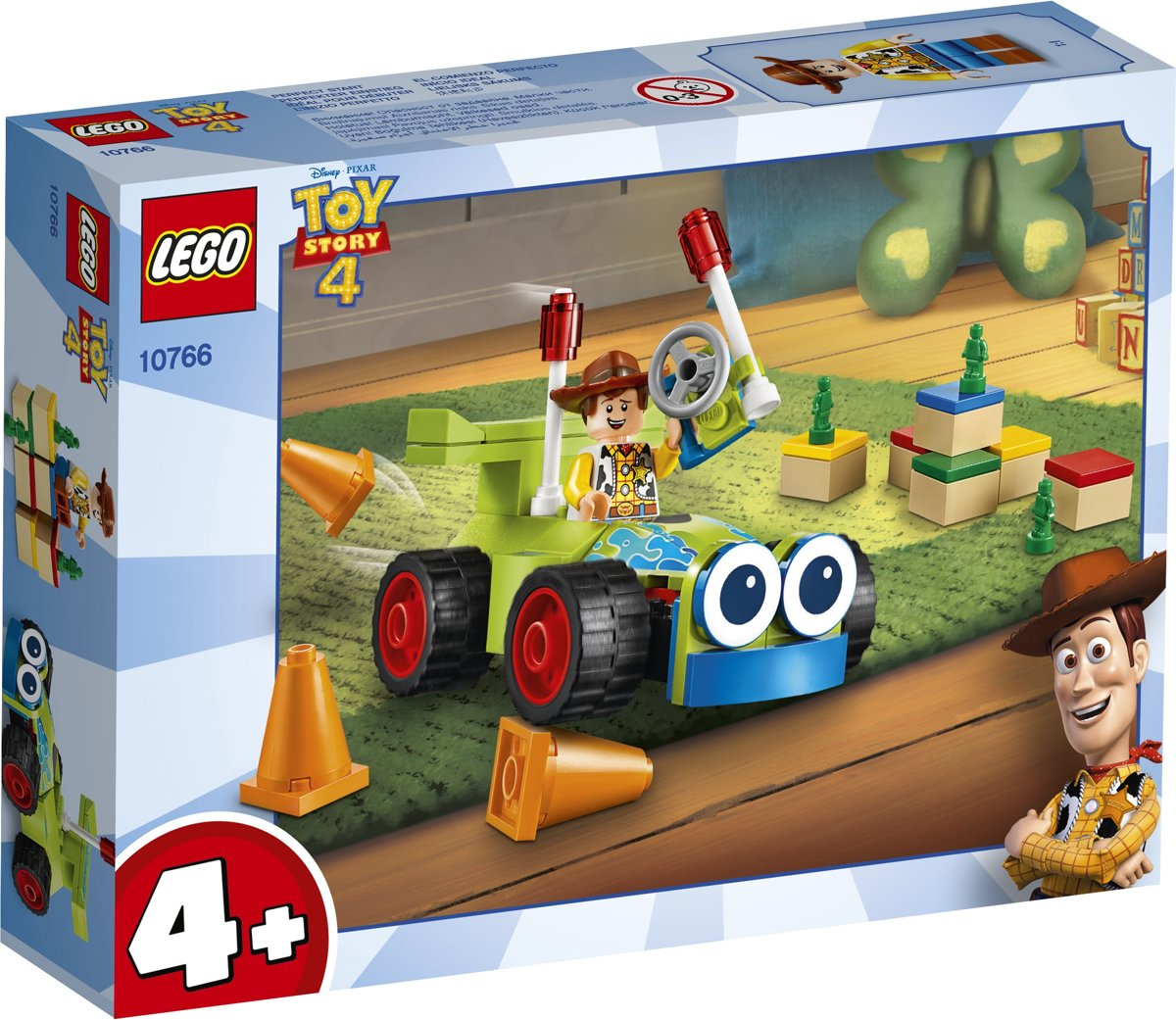 LEGO 4+ Toy Story 4 Woody & RC - 10766