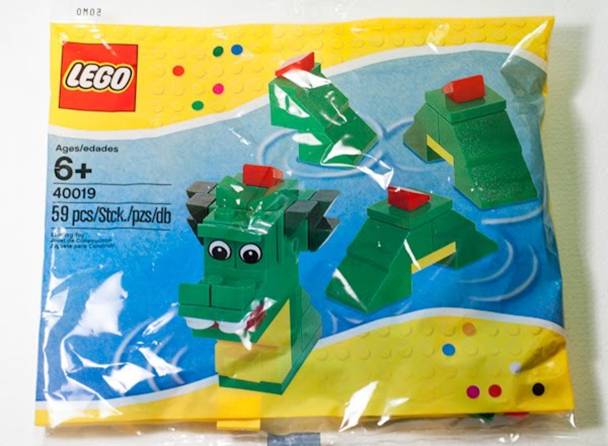 LEGO 40019 Brickley The Sea Serpent (Polybag)