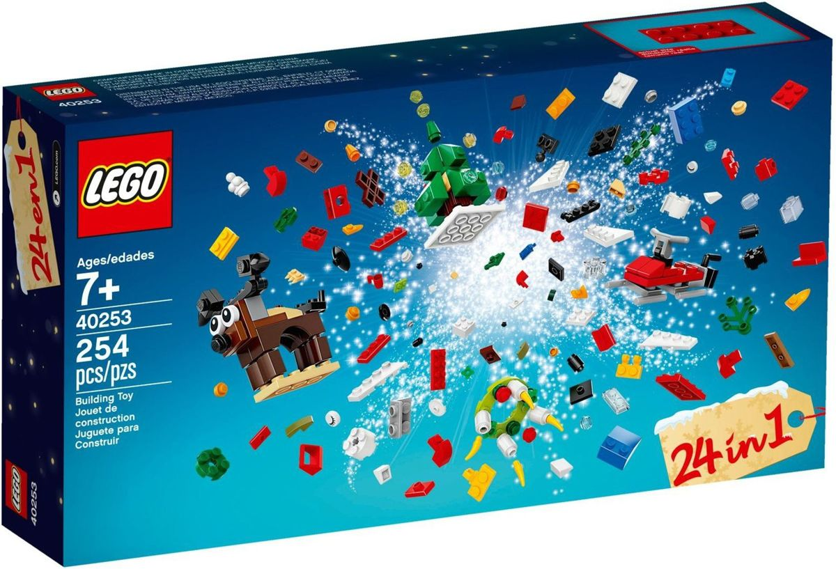 LEGO 40253 Cristmas Build up