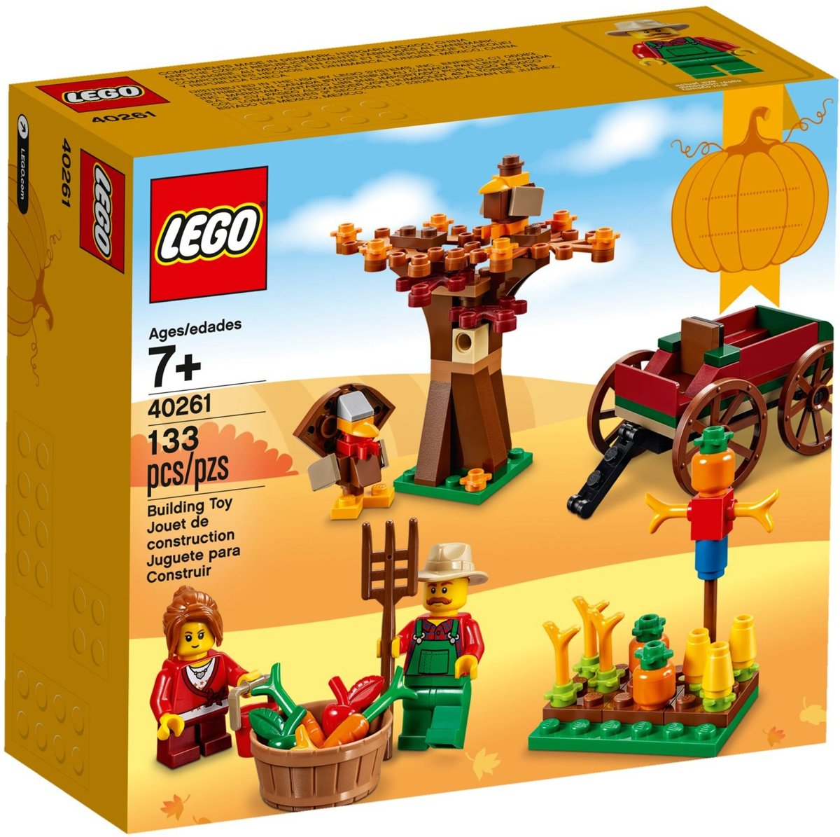 LEGO 40261 Thanksgiving Oogst