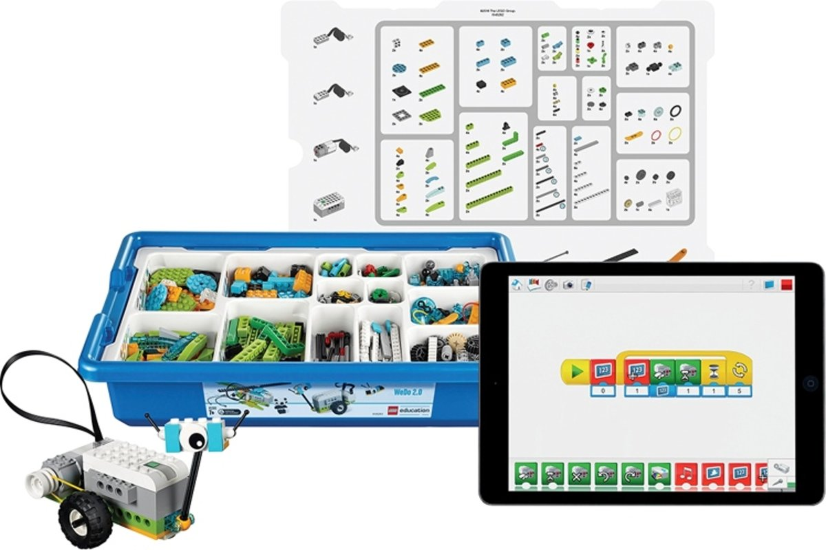LEGO 45300 WeDo 2.0 Basis Set en Software (taal: EN+DE)