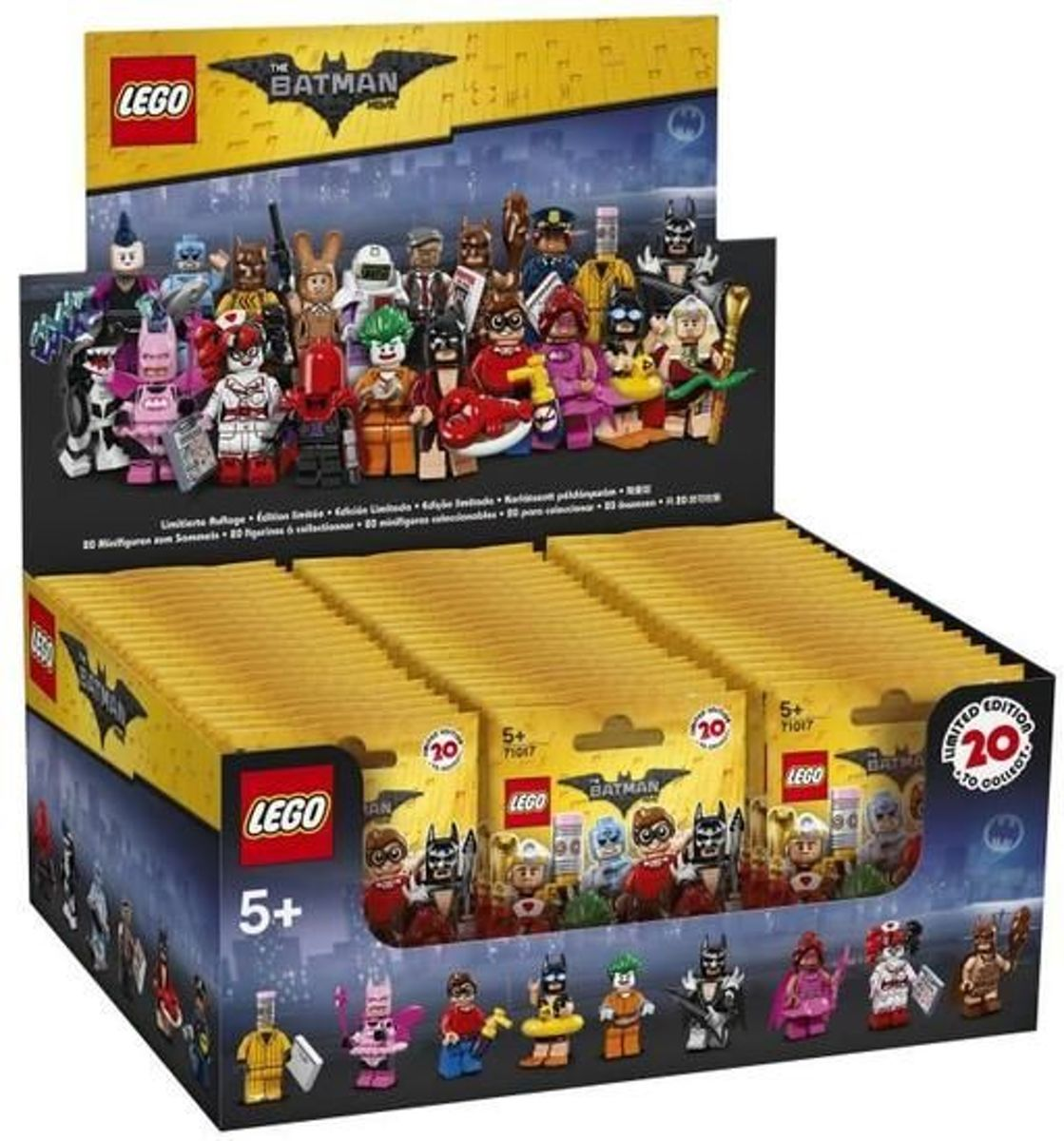 LEGO 71017 Minifiguur Serie Batman Movie (BOX 60 stuks)