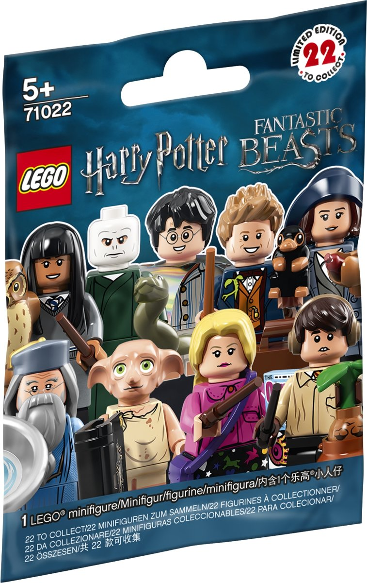 LEGO 71022 Minifiguren Harry Potter Edition verrassingszakje