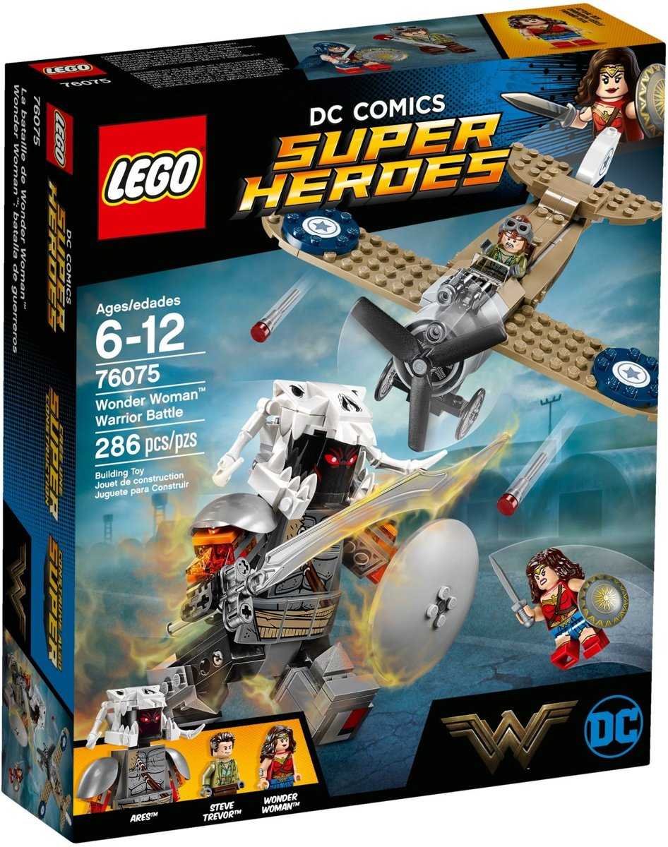 LEGO 76075 Wonder Woman krachtmeting