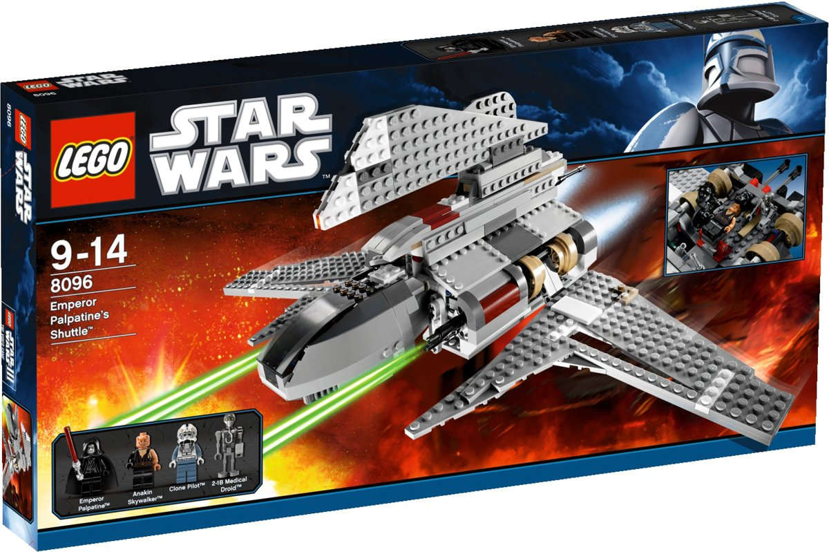 LEGO 8096 Emperor Palpatines Shuttle