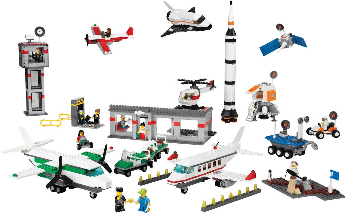 LEGO 9335 Space & Airport Set