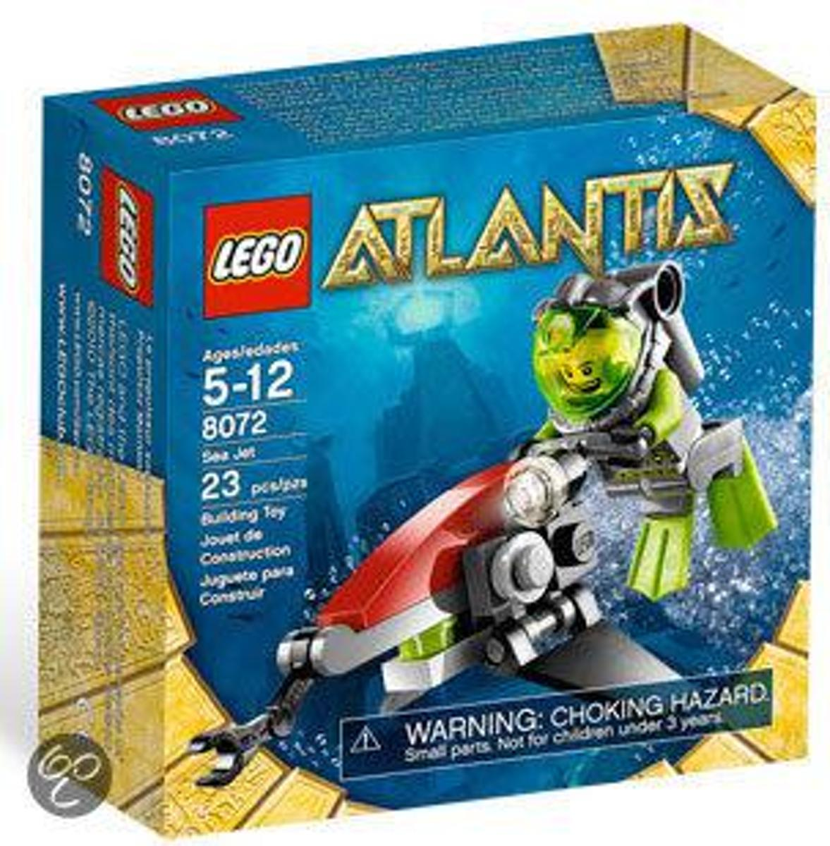 LEGO Atlantis Sea Jet - 8072