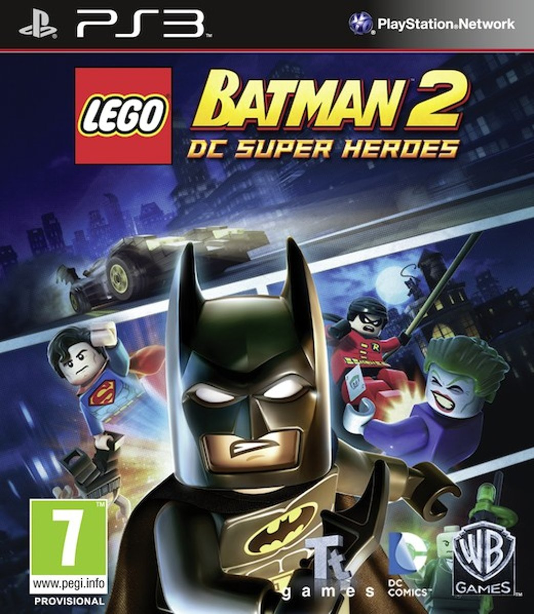 LEGO Batman 2, DC Superheroes  PS3