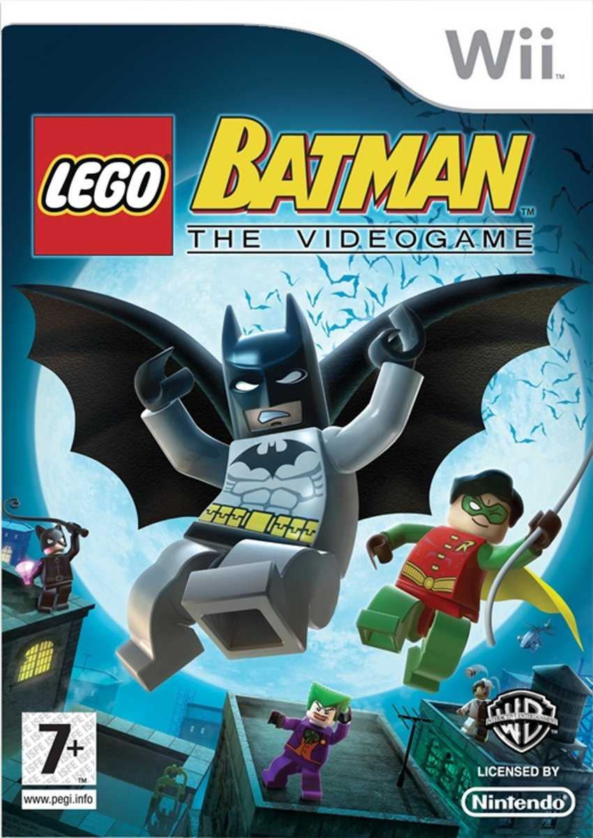 LEGO Batman 2, DC Superheroes  Wii
