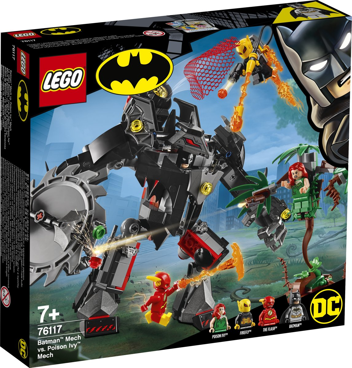 LEGO Batman Mecha vs. Poison Ivy Mecha - 76117
