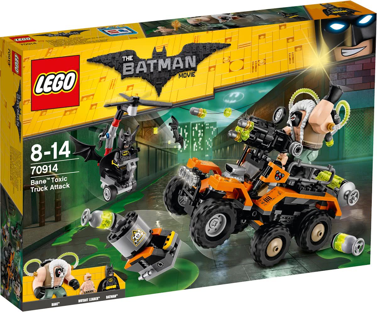 LEGO Batman Movie Bane Giftruck-aanval - 70914