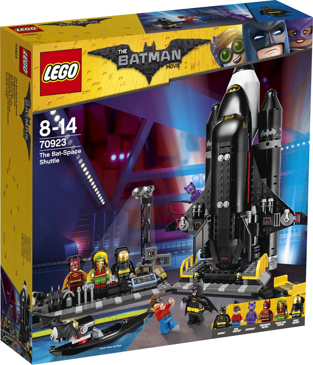 LEGO Batman Movie De Bat-Space Shuttle - 70923