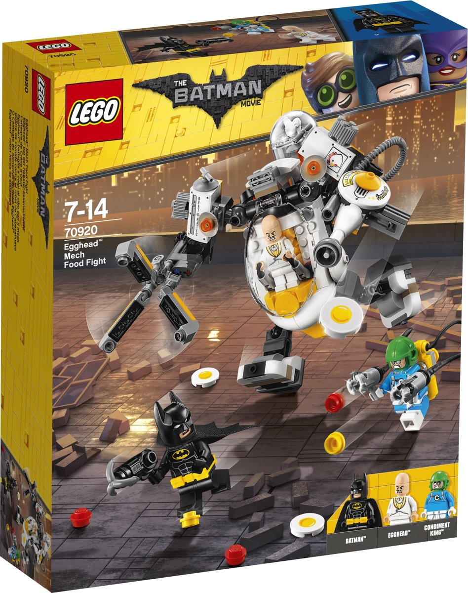 LEGO Batman Movie Egghead Mechavoedselgevecht - 70920