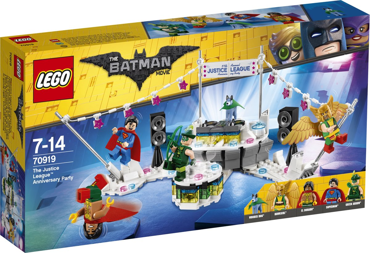 LEGO Batman Movie Het Justice League Jubileumfeest - 70919