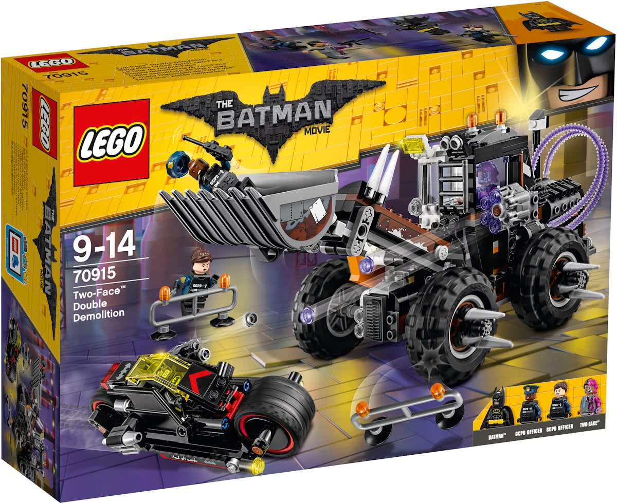 LEGO Batman Movie Two-Face Dubbele Verwoesting - 70915