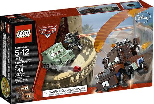 LEGO Cars 2 Agent Takels Ontsnapping - 9483