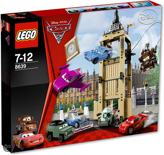 LEGO Cars 2 Bentley Ontsnapping - 8639