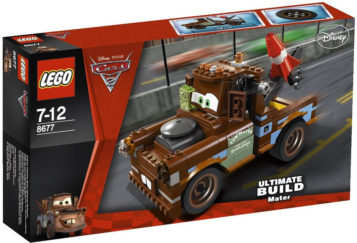 LEGO Cars 2 Ultieme Takel Sleepwagen - 8677