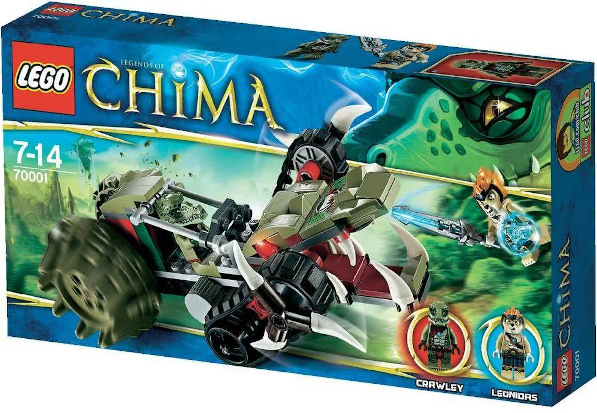 LEGO Chima Crawleys Claw Ripper - 70001