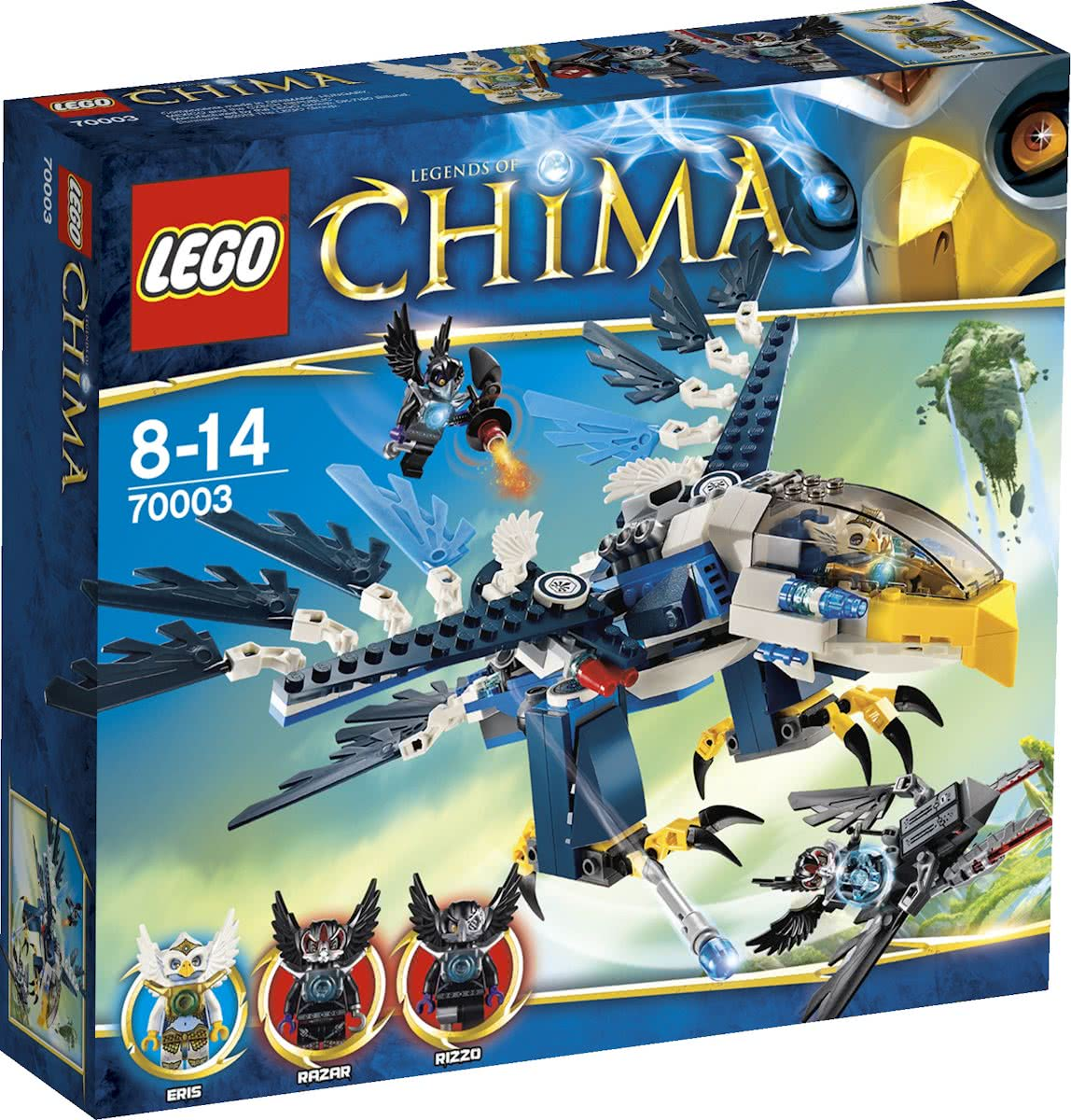 LEGO Chima Eris Eagle Interceptor - 70003