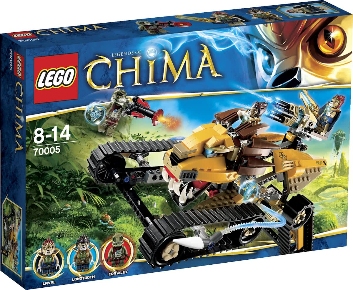 LEGO Chima Lavals Royal Fighter - 70005