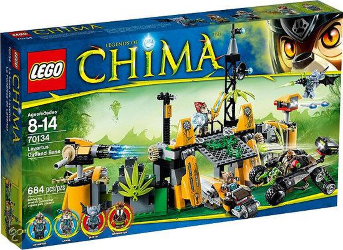 LEGO Chima  Lavertus Buitengebied Basis - 70134
