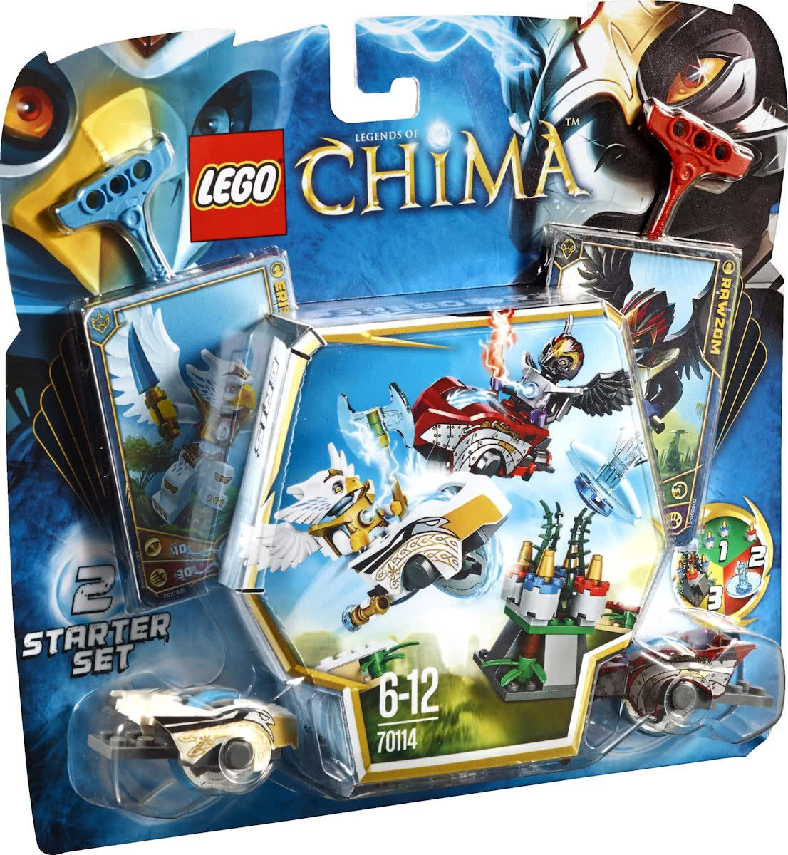 LEGO Chima Luchtduel - 70114