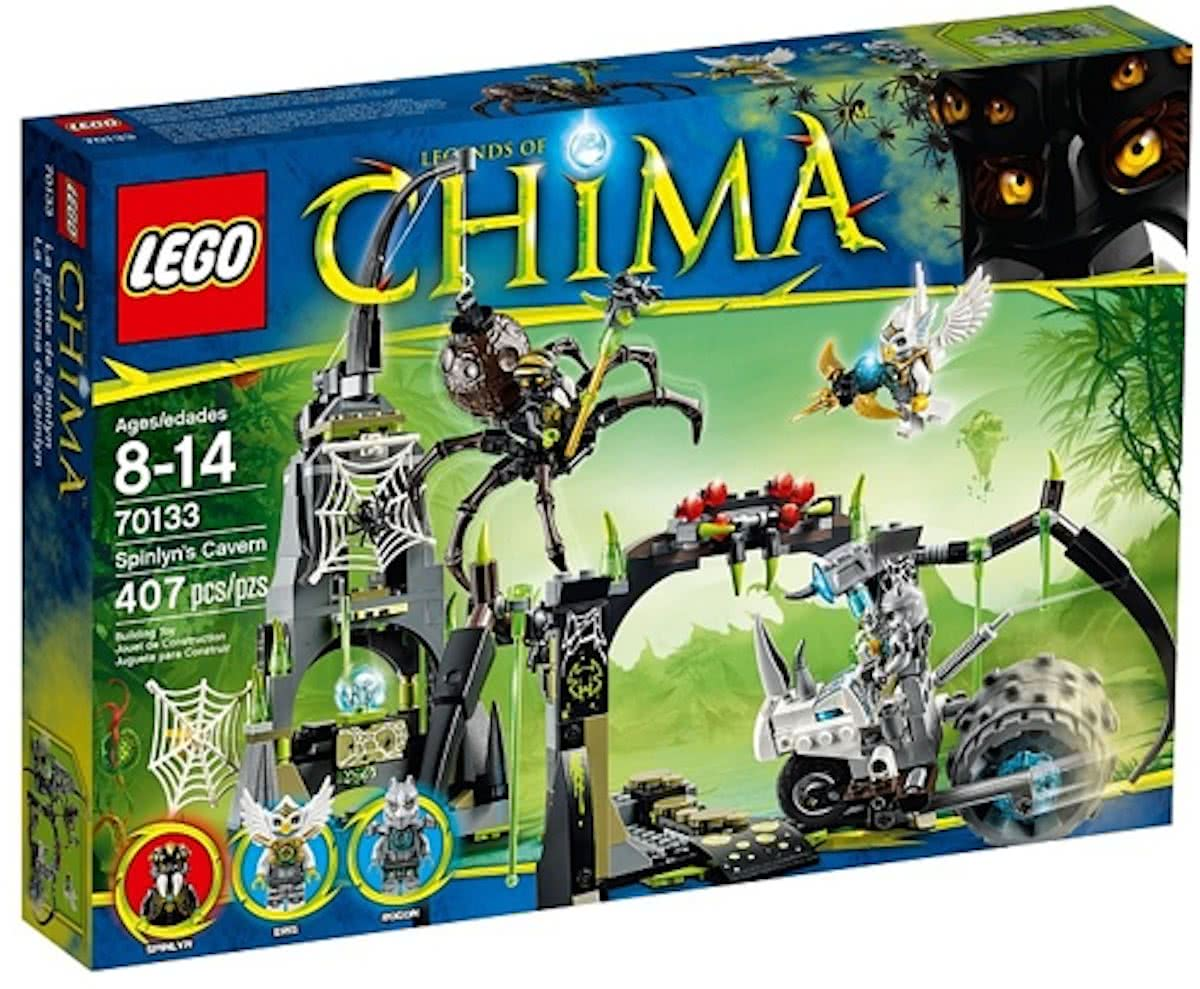 LEGO Chima Spinlyns Grot - 70133