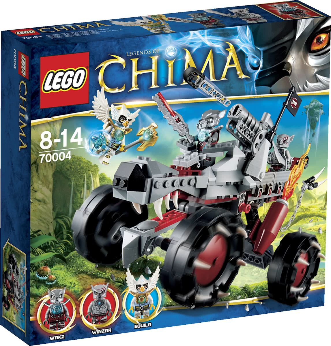 LEGO Chima Wakz Pack Tracker - 70004