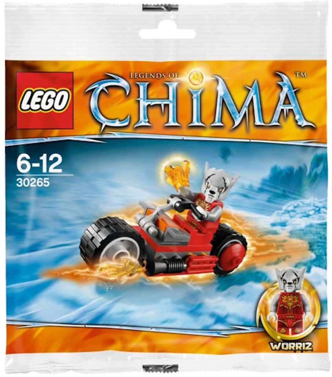 LEGO Chima Worriz Fire Bike - 30265