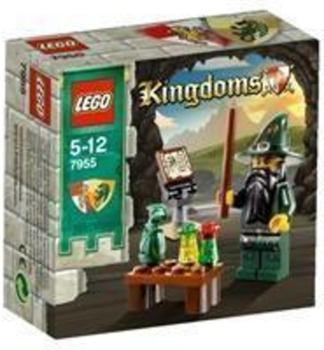 LEGO City - Kingdoms Tovenaar - 7955