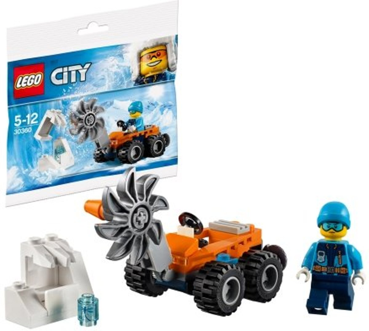 LEGO City 30360 Poolijszaag (polybag) | City - Arctic