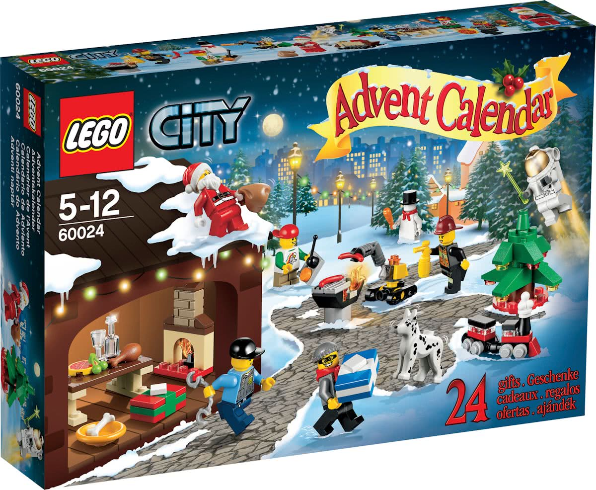 LEGO City Adventskalender 2013 - 60024
