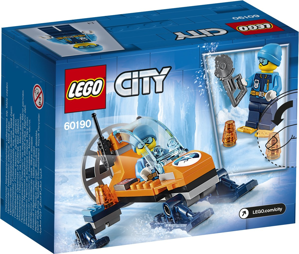 LEGO City Arctic Poolijsglider - 60190