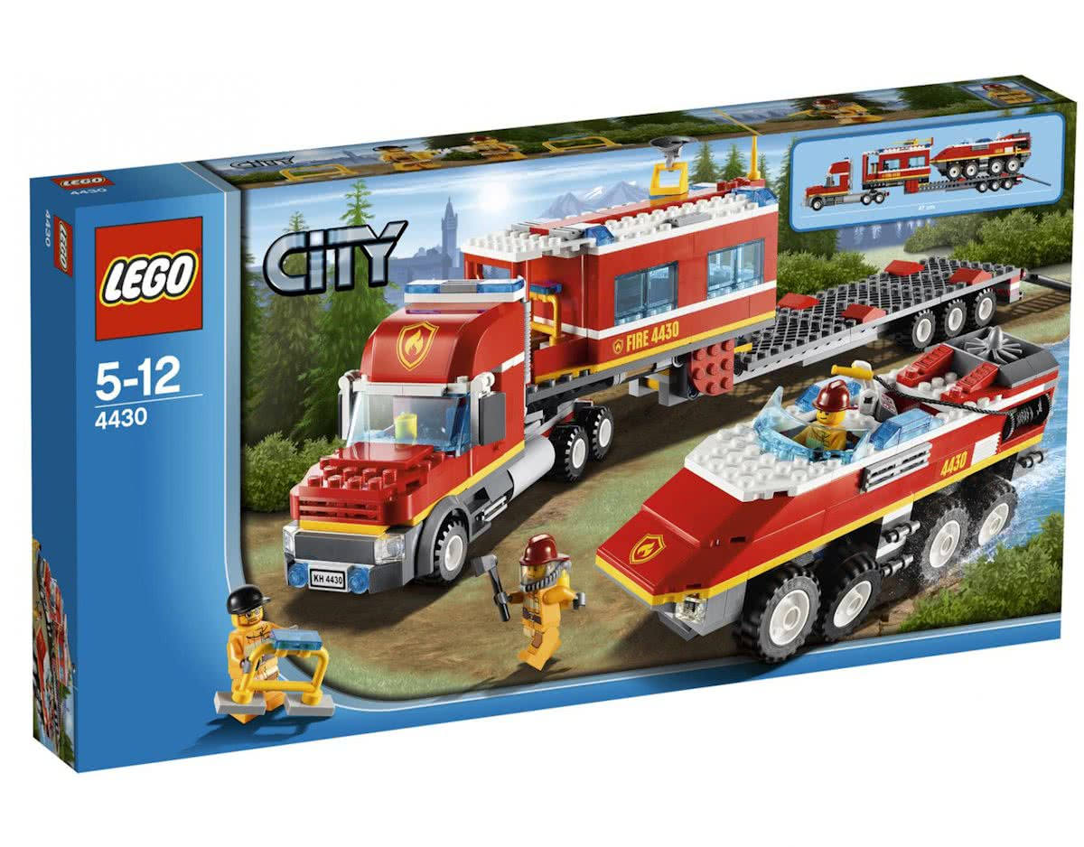 LEGO City Brandweer Commando Truck - 4430