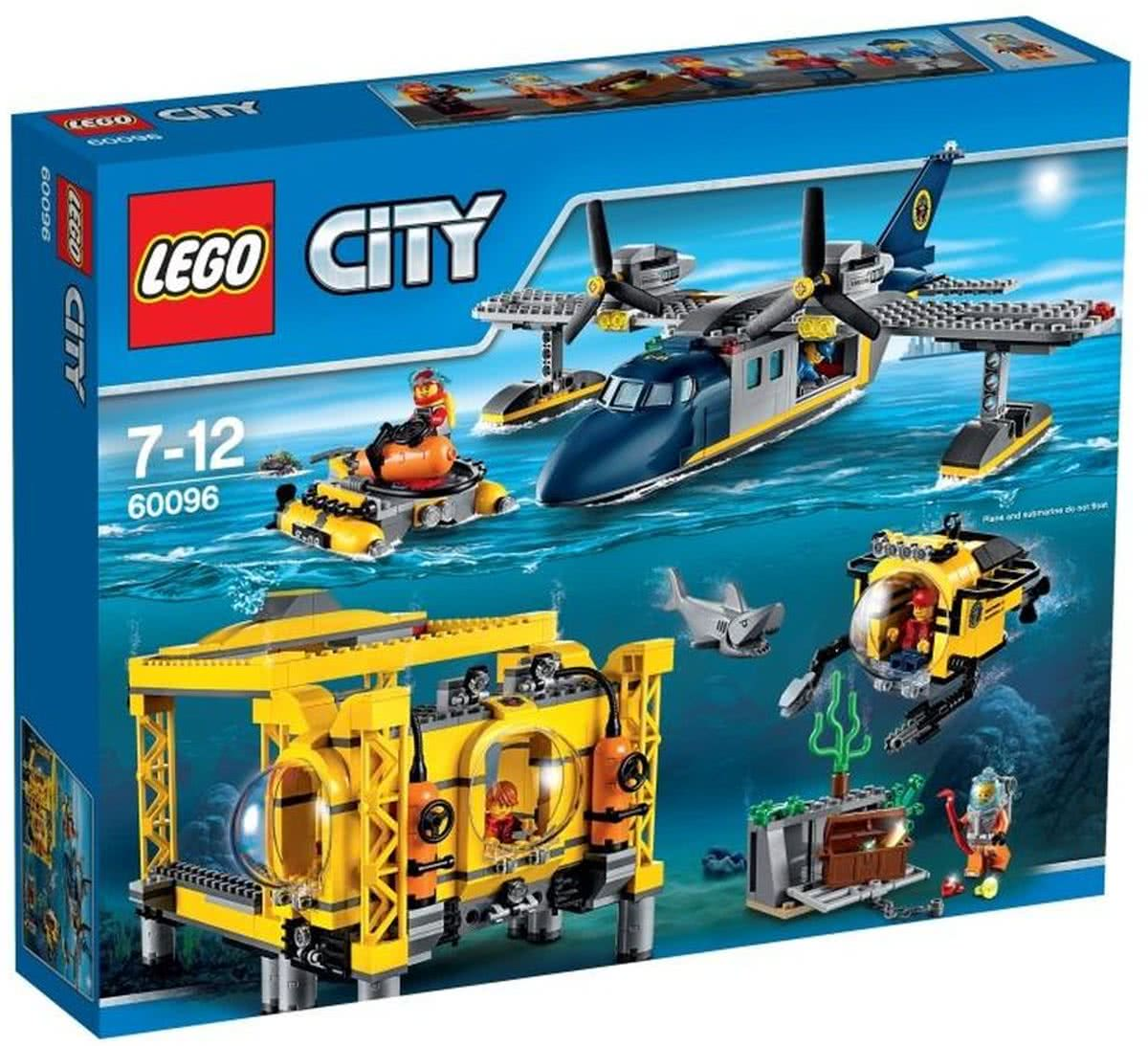 LEGO City Diepzee Station - 60096