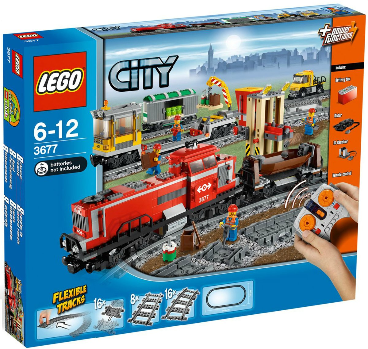 LEGO City Goederentrein - 3677