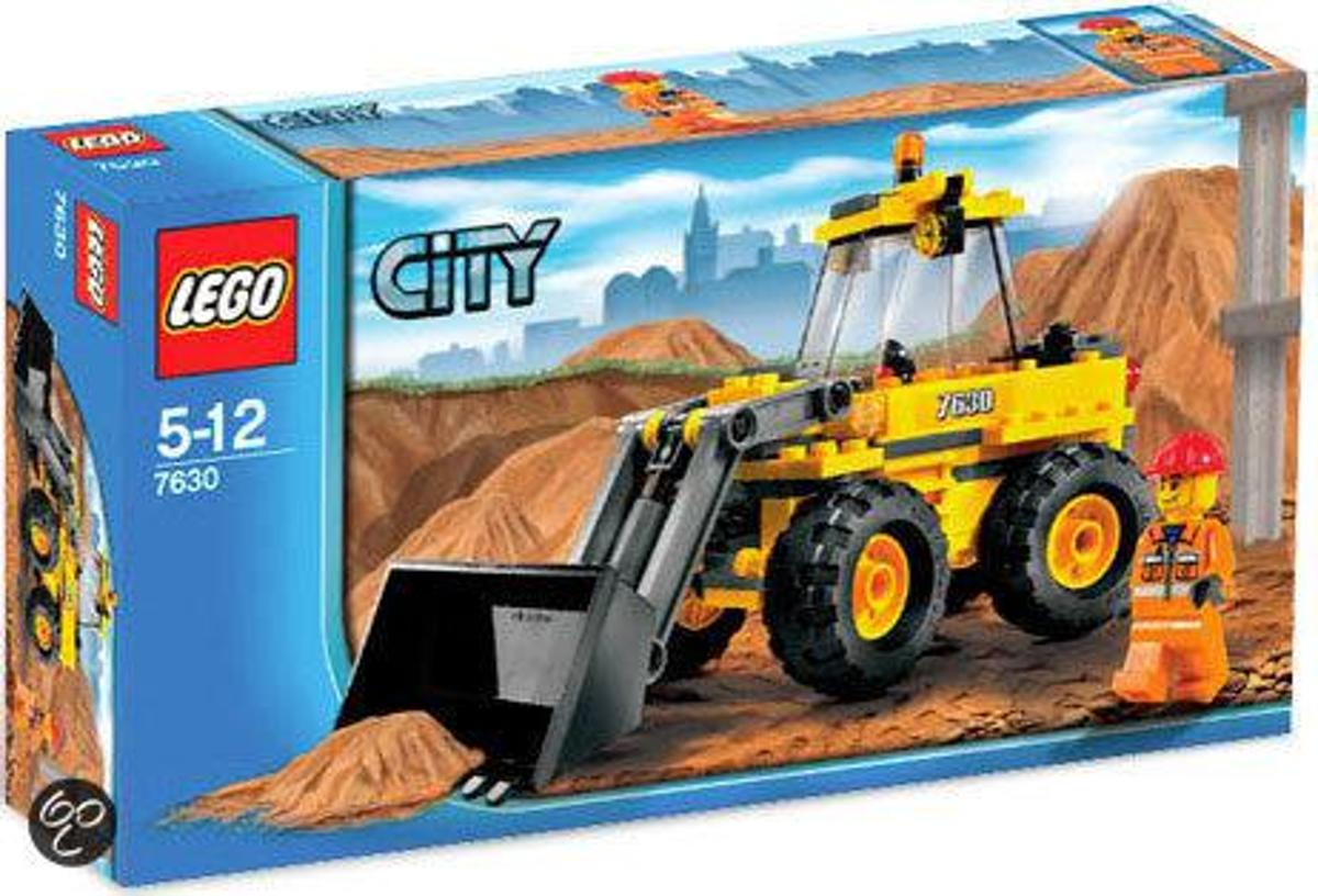 LEGO City Graafmachine - 7630
