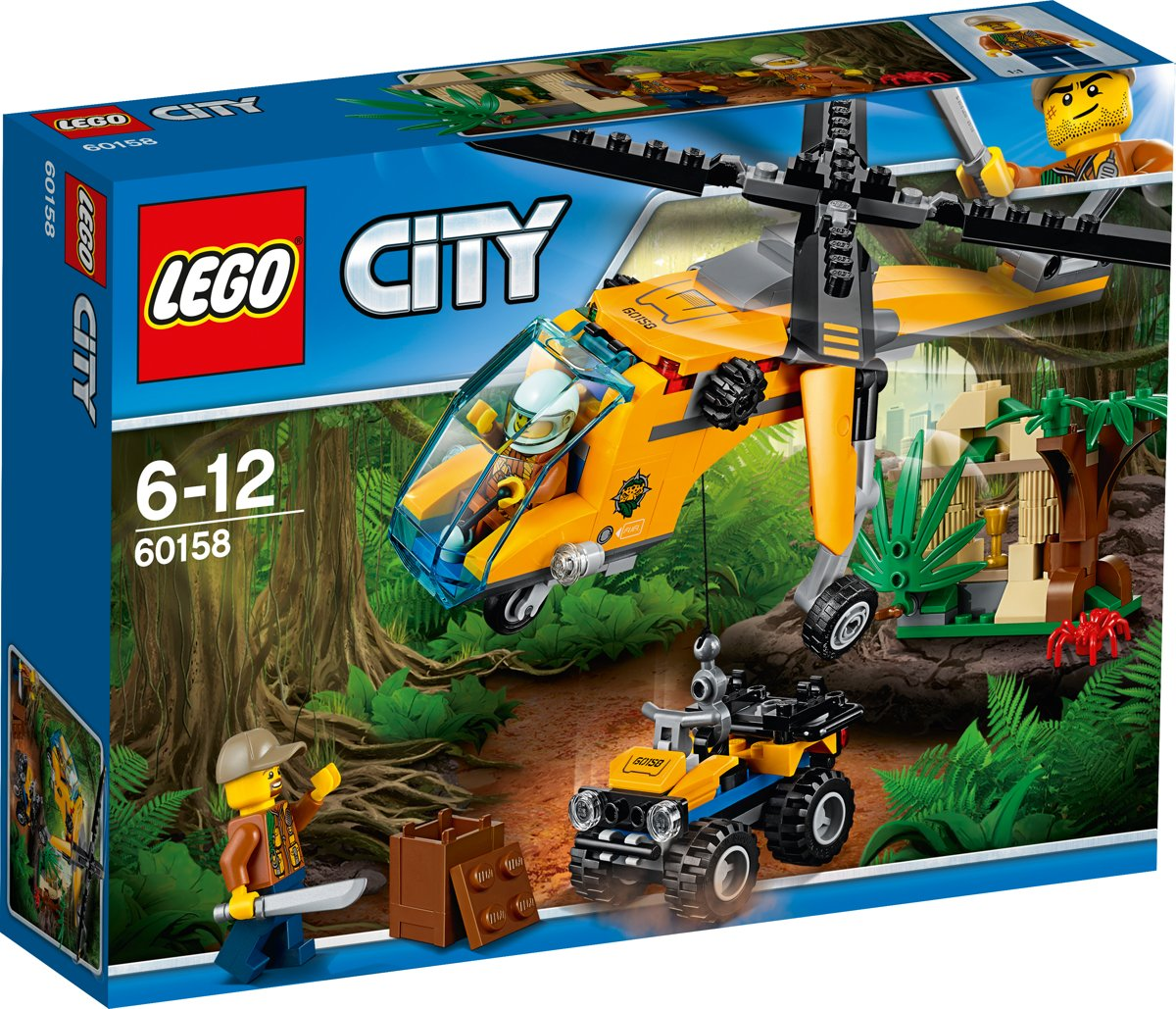 LEGO City Jungle Vrachthelikopter - 60158