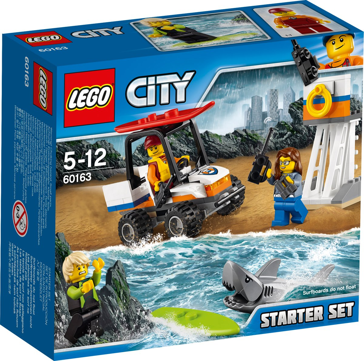 LEGO City Kustwacht Starter Set - 60163