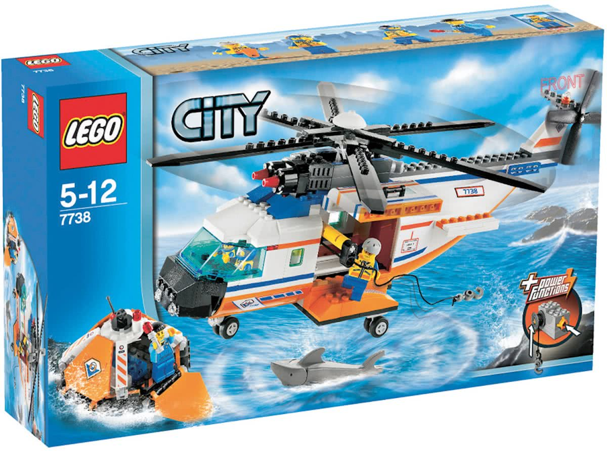 LEGO City Kustwachthelicopter - 7738