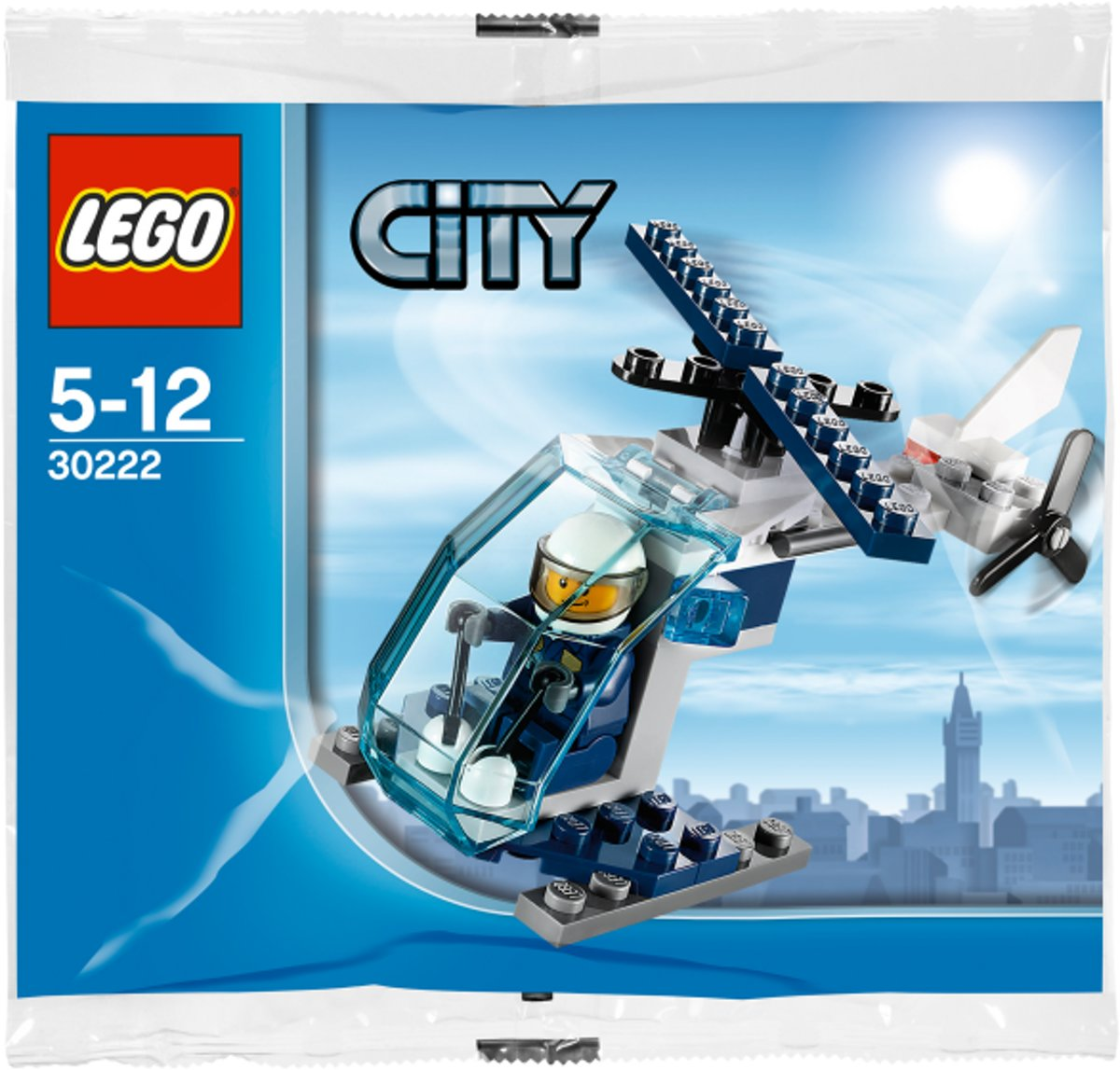 LEGO City Mini Politiehelikopter - 30222