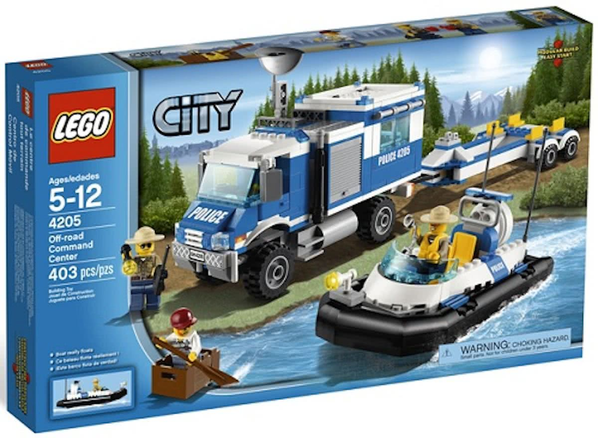 LEGO City Off-Road Commandocentrale - 4205