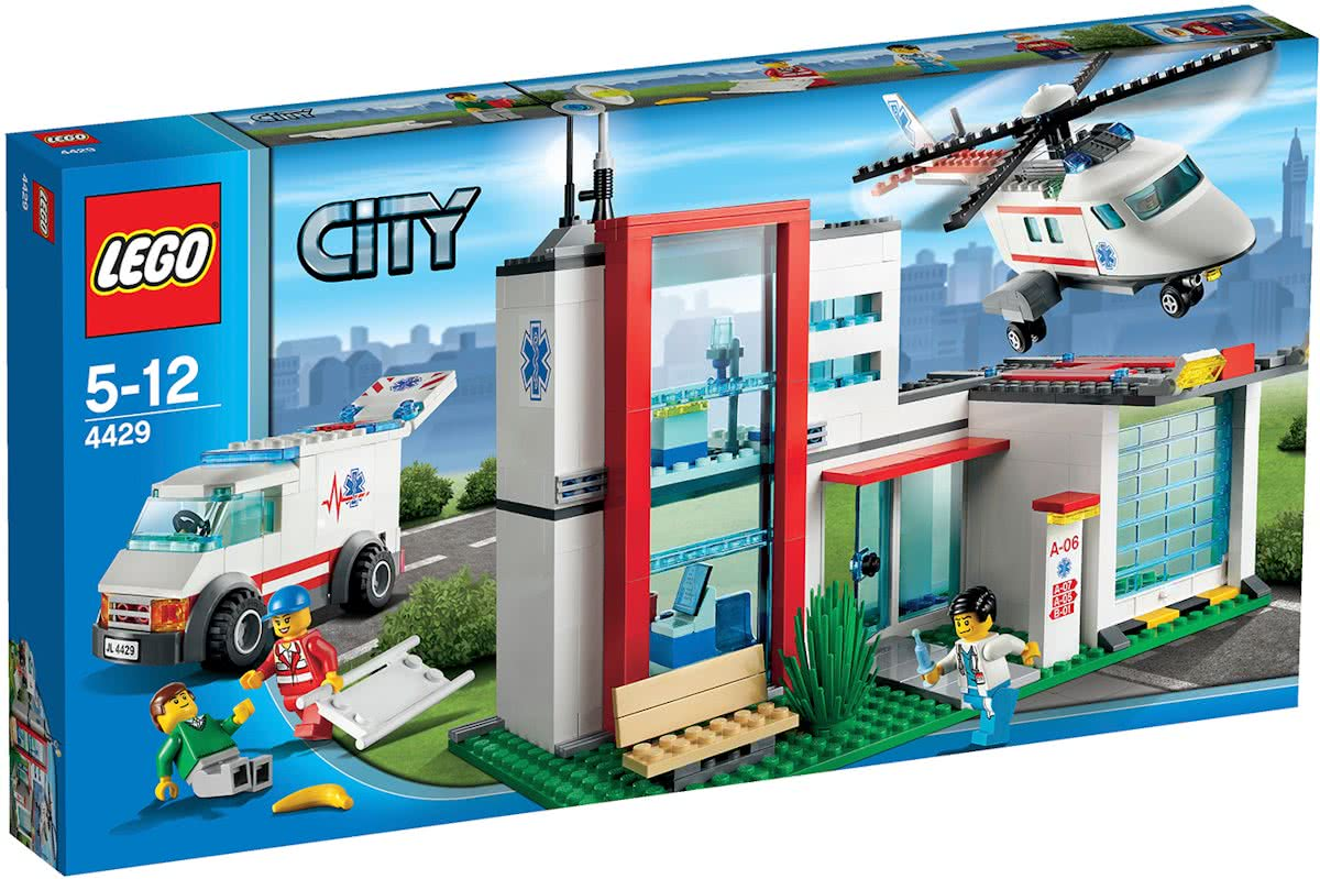 LEGO City Reddingshelikopter - 4429