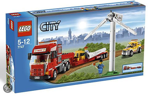 LEGO City Windturbine - 7747